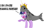 Princess Narwhal Sparkle by Redxmrpimpen