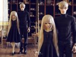 5th Atelier: Black Knit Dress and Turtleneck by Ylden