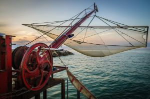 The fishing net by Aralb