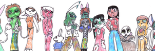 Junior+Green's Family Photo by SaintHeartwing