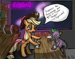 Another Long Shift at The Spoiled Barrel... by Obsequiosity