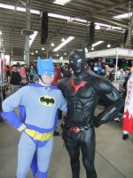 Supanova 2012 - Classic Batman and Batman Beyond by fulldancer-alchemist