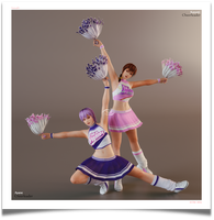 `~ Ninja Sisters : Cheerleaders ~` by VeiradA