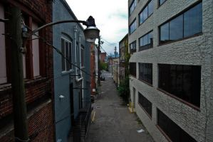 Asheville Alley 2 by Andashd