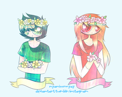 gf flowercrowns by cinyanmon