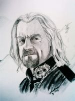 King Theoden of Rohan by phantomphreaq