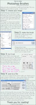 How to Make Photoshop Brushes by joannastar-stock
