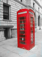 Only a Phone Box by damnedlotus