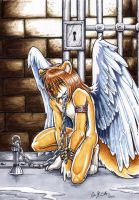 Chained Angel by chaypeta
