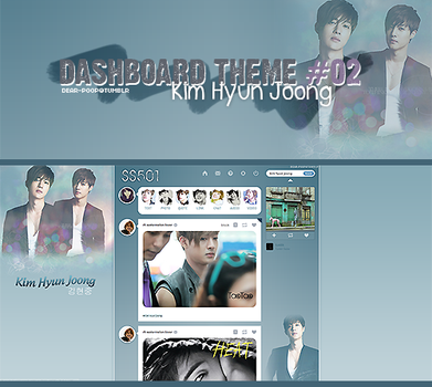 Tumblr Dash 02 -Kim Hyun Joong- by Min-Jung