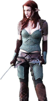 Dragon Age Felicia Day Redempt by micro5797