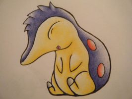 Cyndaquil by LugiaUmbreonPower