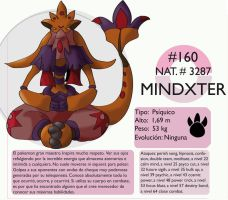 Pokemon Oryu 160 Mindxter by shinyscyther