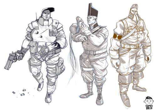 Soldiers by Mikolajj