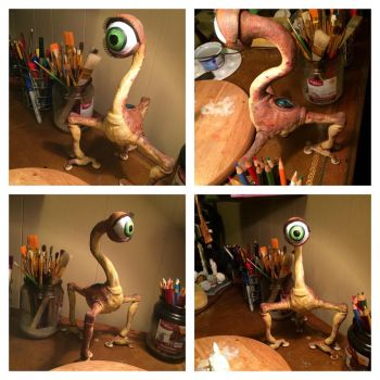 Small soldiers Ocula statue paint wip by jok3r0314