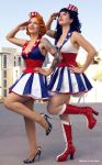 USO Girls by briancalilung