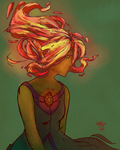 Oh Flame Princess by thunderking