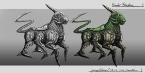 Foregin horse creature by JOVictory