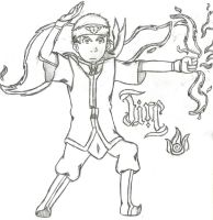 Avatar Aang-Fire by quidditchchick004