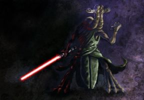 Ithorian Sith by Scarecrovv