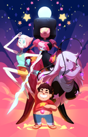 We Are The Crystal Gems by uixela