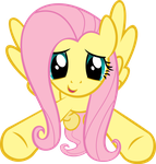Incoming Hug - Fluttershy by Crisx3