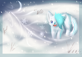 Look at the 'flakes! :AT: by NeroInu