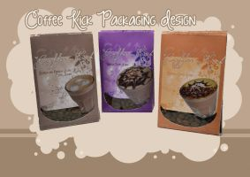 coffee kick packaging. by stephhabes