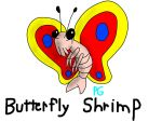 Butterfly Shrimp by Poulterghiest