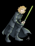 Mid-Trilogy Luke by savagelucy42
