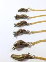 Slug Pendants by Maresy