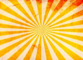Grunge Sunburst Background Texture by tau-kast