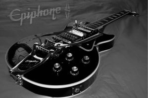 Les Paul Black Beauty by The-Rover