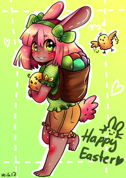 Happy Easter by cuteVeila