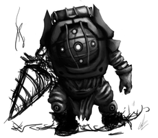 Big Daddy WIP by UltimaFatalis