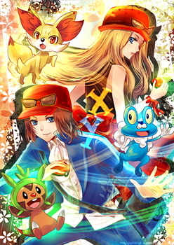 POKEMON XY by Eternal-S
