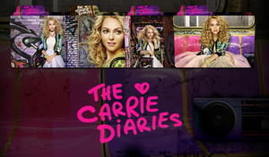 The Carrie Diaries Folder Icon by iBibikov73