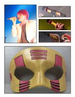 Party Poison Microphone mask by maskedzone
