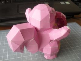 Papercraft - Lickytung 02 by ckry