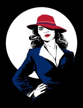 Agent Carter by beanclam