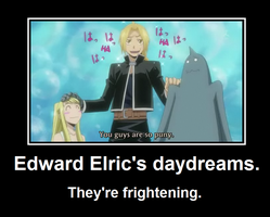 Edward Elric's daydreams. by TrulyBonkerrs
