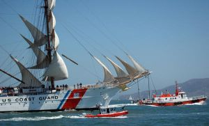 USCGC Eagle in San Francisco by bastpro