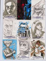 Star Wars Galactic Files series 2 sketch cards 8 by DarklighterDigital