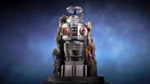 Franklin Mint Lost In Space Robot B-9 by theCrow65