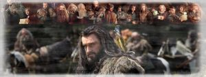 The Hobbit-Thorin Oakenshield - Facebook Cover No1 by LuluDarling