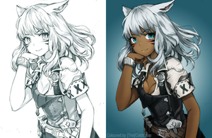Miqo'te [Small] by Thecoldtrojan