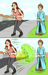 Akura's Fart Propelled Shoes [Story] by gchris5523