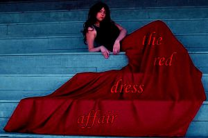 The Red Dress Affair Cover by Ommin202