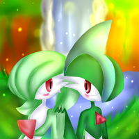 .:Collab:. Gardevoir X Gallade by xXJariraXx