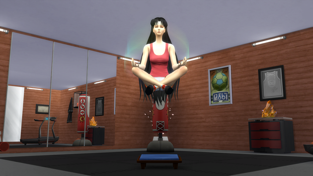[TS4] Rei's Meditation by ZeFrenchM
